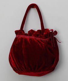 Patachou  Red Velvet Bag