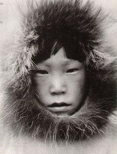 Margaret Bourke-White  At Tuktoyaktuk, Northwest Territory, Canada 1937