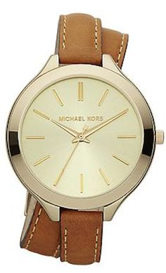 Michael Kors leather wrap watch http://rstyle.me/~2EI7N