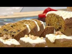 YouTube Banana Bread, Diet, Desserts, Food, Gourmet, Carrots, Sweets, Deserts, Carrot Pudding