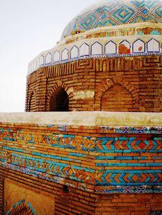 Minaret of Masoom Shah, Sukkur, Pakistan.