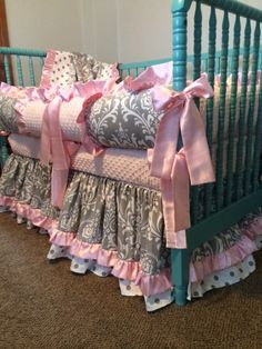 Custom Listing for Tasha McCarty Baby Bedding by 4PeasBabyBoutique