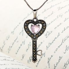 Addison Lane Enchanted Love Key Pendant | Shop.Auctions.MarketAmerica.com