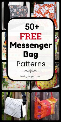 Free Messenger Bag patterns, diy sewing projects, and tutorials. Kids and adult styles, large and small bags. Instruction for how to make messenger bags. Diy Messenger Bag, Messenger Bag Patterns, Backpack Pattern, Handbag Patterns, Bag Patterns To Sew, Sewing Patterns Free, Pattern Sewing, Diy Sewing Projects, Sewing Tutorials