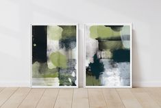 Excited to share the latest addition to my #etsy shop: Green Abstract Print Set, Downloadable Modern Gallery Wall Art, Print Set of Two, Watercolor Black Art Poster Set, Mint Green Printable Art #art #print #digital #vertical #abstractgeometric #entryway Black And White Wall Art, Black Art, Pastel Walls, Modern Gallery Wall, Beige Art, Cloud Art, Pink Wall Art, Modern Prints, Art Prints