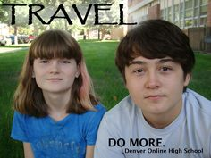 Piper and Aidan Hunt are taking online courses through Denver Online High School after moving to Indonesia for their father's job. See their whole story on our website: http://wp.me/P1BVL7-1jf