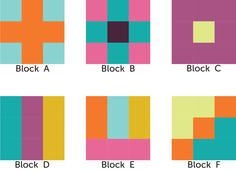 Nine Patch Block Variations