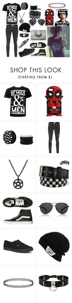 """Of Mice and Men"" by abipatterson ❤ liked on Polyvore featuring Paige Denim, Fad Treasures, Lowlife, Vans, The Row, Zana Bayne, BCBGeneration, men's fashion and menswear"