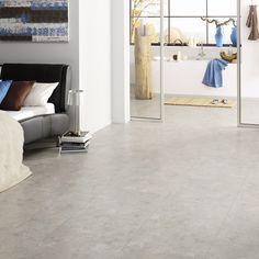 ein loft mit betonboden ist ein traum hier sehen sie allerdings klick vinylfliesen in. Black Bedroom Furniture Sets. Home Design Ideas