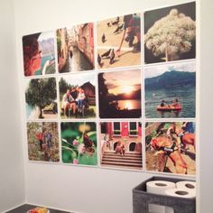IXXI tiles voor foto collage