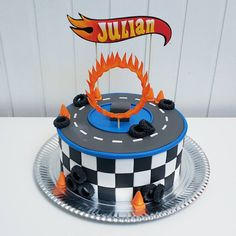 #hotwheels #Cars #cake #boys