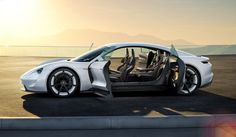 Tribute to tomorrow. Porsche Concept Study Mission E. | Dr. Ing. h.c. F. Porsche AG
