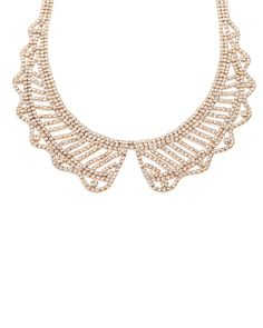 Crystal Lace Collar - JewelMint