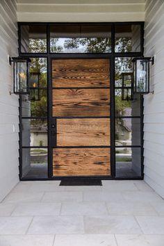 Ideas House Front Entrance Ideas The Doors House Doors, House Entrance, Entrance Doors, The Doors, Wood Doors, Windows And Doors, Entrance Ideas, Door Ideas, Slab Doors