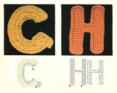 abecedario crochet
