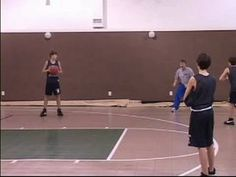 Motion Offense in Youth Basketball : Youth Basketball Motion Offense: Backdoor - YouTube