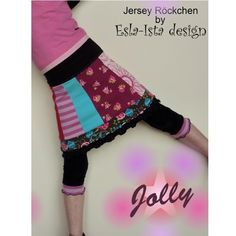 Close-fitting jersey skirt JOLLY, Kreativ-Ebook - farbenmix Online-Shop - Schnittmuster, Anleitungen zum Nähen