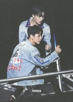 Yunhyeong and Jinan Chanwoo Ikon, Kim Hanbin, Ikon Wallpaper, Song Of The Year, Yg Entertainment, South Korean Boy Band, Boy Bands, Kpop, Songs