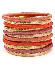 RJ Graziano Multi Set Bangle Bracelets, Set of 12   Bloomingdale's