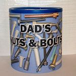 Decoupage Daddy's Caddy Craft; perfect for Birthday or Father's Day.