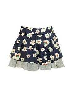 Mixed Media Skirt by La Miniatura at Gilt