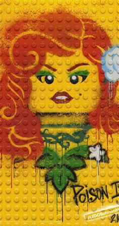 'The Lego Batman Movie' - Character Posters - IMDb #PoisonIvy