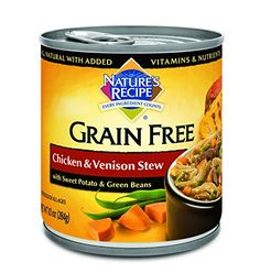 Natures Recipe Grain Free Wet Dog Food  Chicken  Venison Stew * Want additional info? Click on the image.
