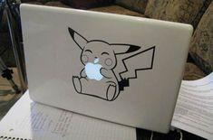 O agrégale a Pikachu. | 31 Cosas geniales que puedes hacer con el logo de Apple de tu Mac
