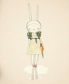 Fifi Lapin... the world's most stylish bunny.