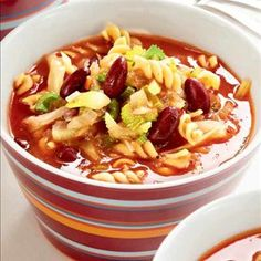 Chili, Food And Drink, Pasta, Soups, Chile, Soup, Chilis, Pasta Recipes, Pasta Dishes