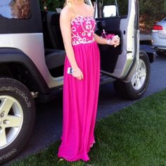 a5d49761c79 Spotted while shopping on Poshmark: Prom dress! #poshmark #fashion  #shopping #
