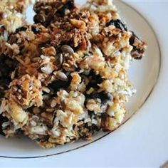 Jo-Ann's Power Bars from Allrecipes.com.... Quick easy, and healthy