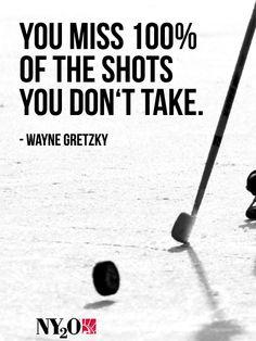 #WayneGretzky #TakeTheShot #NY2O