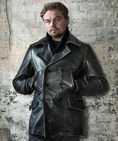 @leonardodicaprio from the cover of Wired magazine wearing @cockpitusa @cockpitusa is running a 12 days of Christmas event offering 20% - December 16th use code DAYSEVEN Today is this Naval Officers coat Centennial Waffle Knit Sweater and Pilots Silk Scarf