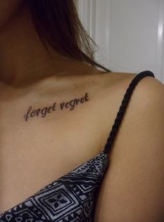 """Forget Regret"" Pierce the Veil. This is so perfect."