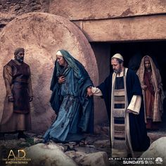 Jesus rose from his tomb on Sunday's A.D. The Bible Continues. What miracles will come next? | A.D. The Series