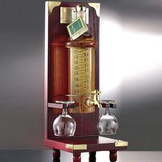 """""""distillatore"""" contenente grappa invecchiata+2 bicchierini"""