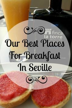 YUM >> Eating breakfast outside is very typical in Spain, and in fact, it's one of our favorite meals to enjoy in a local bar. Here are our best places for breakfast in Seville so you can join in this wonderful tradition too! Spain And Portugal, Portugal Travel, Spain Travel, World's Best Food, Local Bars, Seville Spain, Voyage Europe, Cadiz, Roadtrip