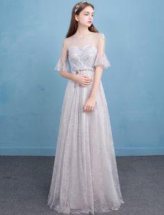 Evening dress female new banquet short section was