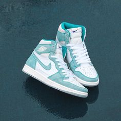 """Air Jordan 1 """"Turbo Green"""" will be available in-store and online tomorrow at EST. Air Jordan 1 """"Turbo Green"""" will be available in-store and online tomorrow at EST. Dr Shoes, Nike Air Shoes, Hype Shoes, Cool Nike Shoes, Nike Air Jordans, Retro Nike Shoes, Jordans Sneakers, Green Jordans, Air Jordans Women"""