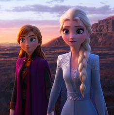 Frozen 2 Anna and Elsa Frozen Disney, Frozen Movie, Anna Frozen, 2 Movie, Olaf Frozen, Unicornios Wallpaper, Disney Wallpaper, Disney Princess Pictures, Disney Pictures