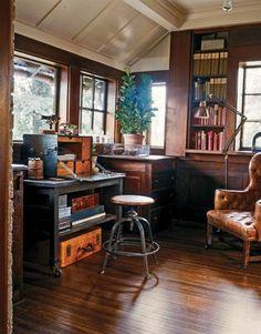 Incroyable Vintage Industrial Office