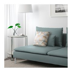 S derhamn canap 3 places m ridienne finnsta turquoise ikea convoitise - Canape turquoise ikea ...