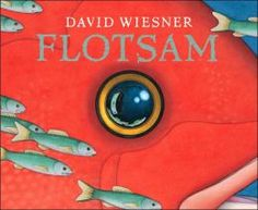 IT'S AMAZING. : Flotsam  *This wordless book is a great one to use with very young children or struggling readers. Allow them to read the pictures and tell you what is going on. It is a great confidence booster! Many forget that reading is about making meaning and figuring out the story, not just calling out words. :)