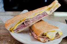 $6.95 | Cuban Sandwich from Puerto Sagua Restaurant in Miami Beach, FL | Puerto Sagua Restaurant  700 Collins Ave, Miami Beach, FL 33139 (map); 305-673-1115
