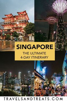Spend 4 days in Singapore with this guide. This Singapore itinerary is all you need for your trip. Don't miss the best things to do in Singapore! Singapore Travel Tips, Singapore Itinerary, Visit Singapore, Singapore Malaysia, Singapore Trip, Singapore Sling, Asia Travel, Solo Travel, Croatia Travel