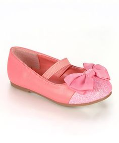Take a look at this Coral Girona Flat on zulily today!