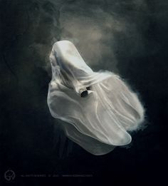 ghost by BetweenTheClouds.deviantart.com on @DeviantArt