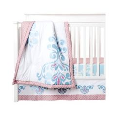 Castle Hill Kitts 3pc Baby Girl Bedding Set Quick Information