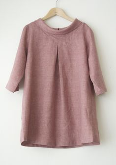 LINNET Linen blouse リネンブラウス More